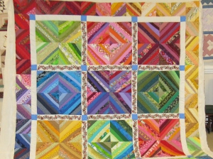 Tick Tack Toe-String Quilt