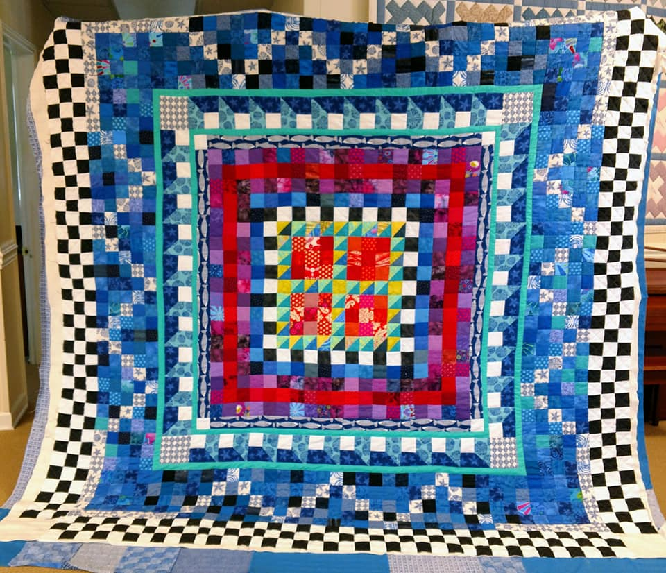 Cotton Pieced Quilt