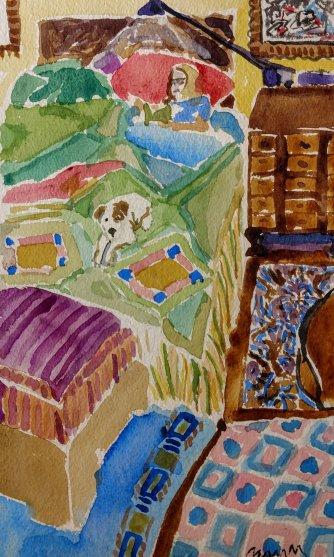 Watercolor Reading