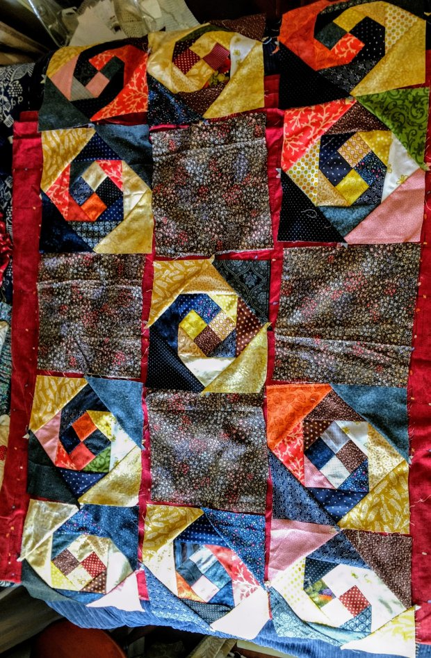 Traditional Monkey Wrench Quilting Pattern