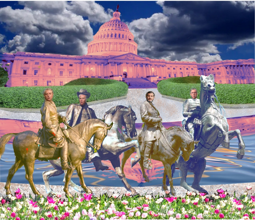 Four Horsemen Wreaking Havoc